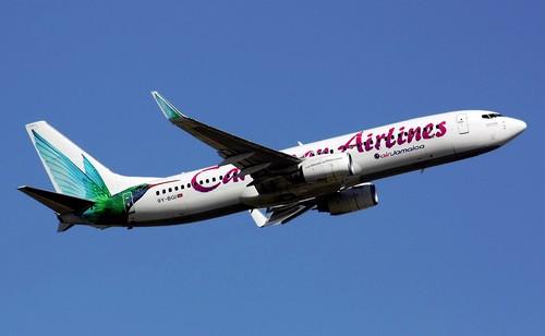 Самолет Caribbean Airlines-